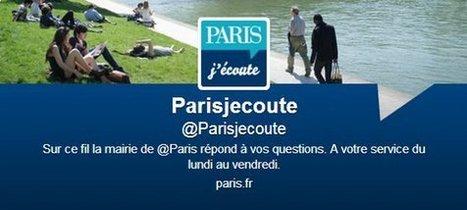 La ville de Paris répond à vos questions en temps réel | La Fonderie | GovOnTheWeb2 | Scoop.it