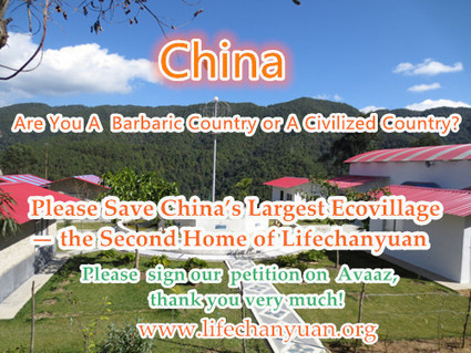 Please Give Us Your Kind Support to Save China's Largest Ecovillage | Sustainable Settlements | Scoop.it