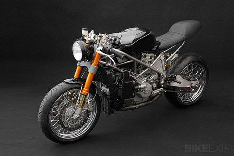 Ducati 999S by Venier Customs | Ductalk Ducati News | Scoop.it