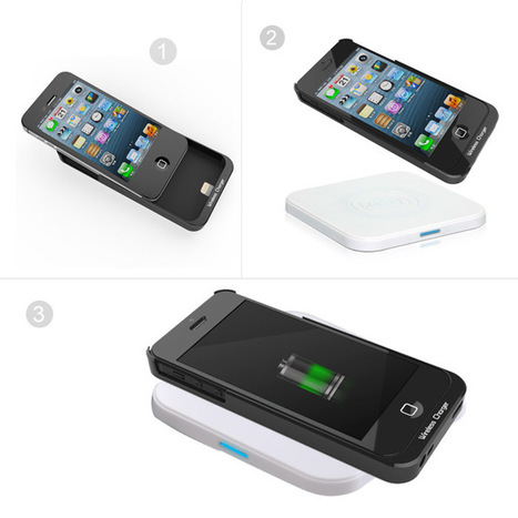 QI Wireless Charging Case For iPhone 5S/5 - Wireless Charger | Wireless Charger | Scoop.it