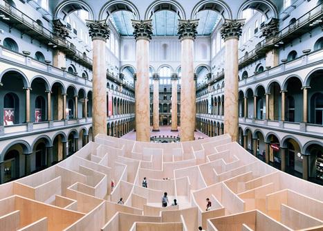 Bjarke Ingels' BIG maze opens at Washington's National Building Museum | Art Installation | Scoop.it