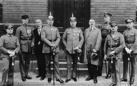 November 8, 1923: Adolf Hitler Attempts a Coup in Germany—the 'Beer Hall Putsch' - The Nation. | World at War | Scoop.it