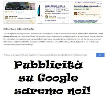 Pubblicità su Google: Mettiamoci la faccia! | Communications & Social Media Marketing | Scoop.it