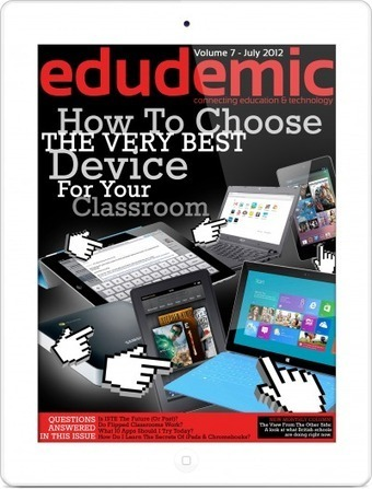 How To Choose The Very Best Device For Your Classroom | Edudemic | ADP Center for Teacher Preparation & Learning Technologies | Scoop.it