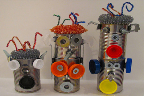 Tin Can Robots | Crafts for Kids | PBS Parents | Maker Lessons & Activities | Scoop.it