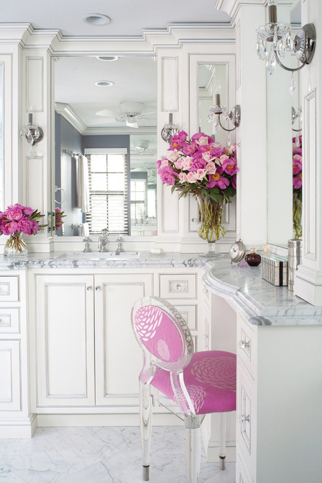 Surprisingly Versatile: 25 Fabulous Pastel Pink Interior Designs | DesignRulz | Designing Interiors | Scoop.it