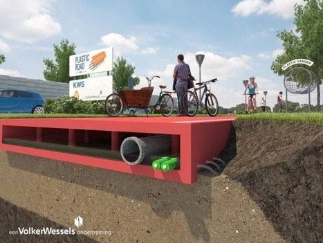 "Could Plastic ""Lego"" Roads Pave The Way To A Greener Future? 