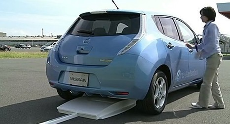 Electric Cars Sans Cords: Nissan Readying Higher-Power Inductive Charging   Groupe Recharge   Scoop.it