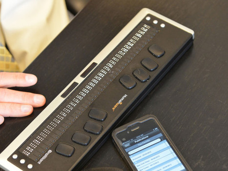 For The Blind, Connected Devices Create A Novel Way To Read - OPB News | library for blind | Scoop.it