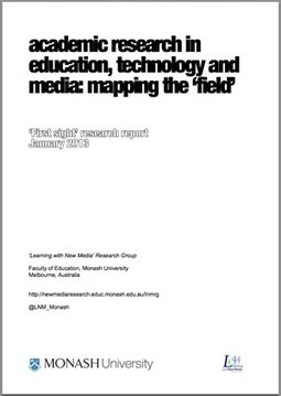 Academic research in education, technology and media: mapping the field | Learning with New Media Research Group | Fun way of learning | Scoop.it