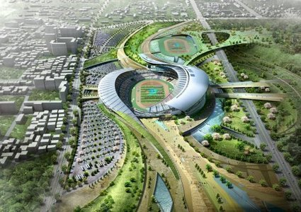 Incheon stadium designed to turn into park after Asian Games | green streets | Scoop.it