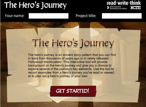 Hero's Journey - an interactive tool for story telling patterns | ReadWriteThink | 6-Traits Resources | Scoop.it