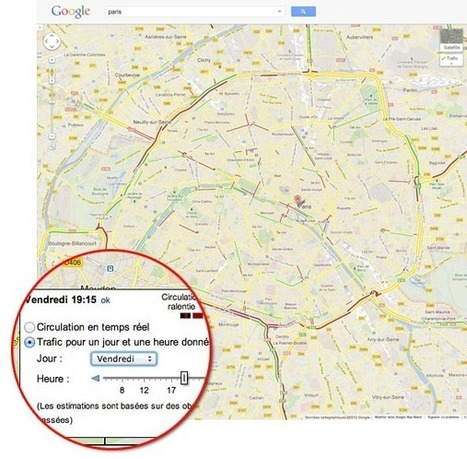 Google Maps : les prévisions de trafic pour les axes secondaires | Time to Learn | Scoop.it