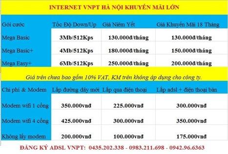 Lắp Đặt Mạng Wifi Vnpt Hà Nội Giảm 50% Phí Ban Đầu   Lap Mang VNPT   Scoop.it