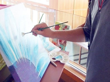 Therapeutic Painting Eases Chemo Treatment | Art and Events Sioux Falls | Scoop.it