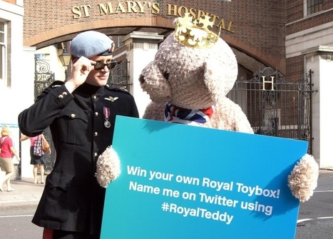 Poor PR person braves bear suit in tropical heat for Hasbro royal baby stunt | PR Examples | Corporate Communication & Reputation | Scoop.it