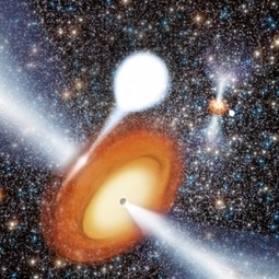 Two black holes in star cluster surprise scientists | COSMOS magazine | Scientific Reports | Scoop.it