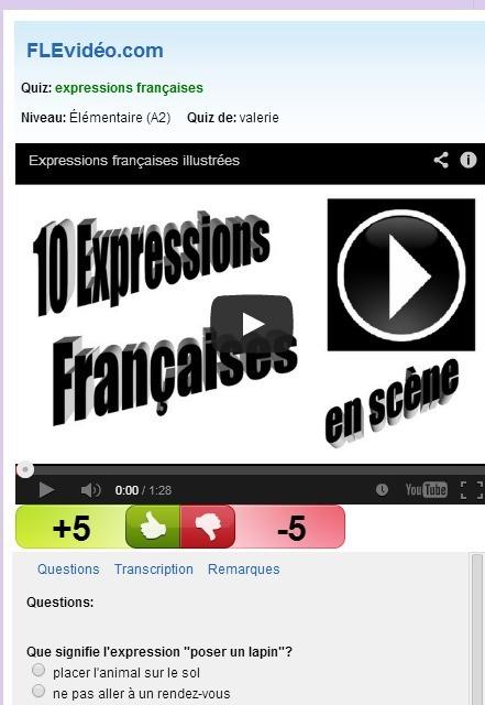 Nous parlons français: Expressions idiomatiques | Remue-méninges FLE | Scoop.it