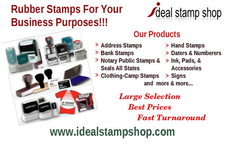 Rubber Stamps For Your Business Needs | Stationary Services For All Your Needs | Scoop.it
