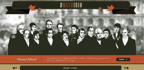 Revolución de Mayo (1810) - La verdadera historia contada por sus protagonistas (en Twitter) | Bibliotecas Escolares Argentinas | Scoop.it