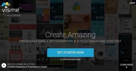 Visme. Création de graphiques, présentations et infographies – Les Outils Tice | Anaquel de libros, blogs y videos | Scoop.it