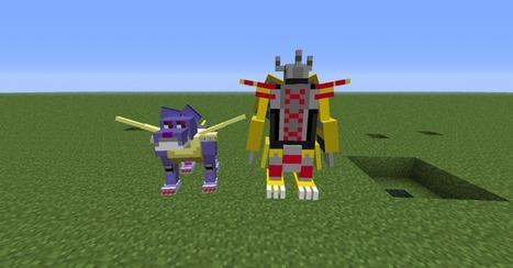Digimobs Mod 1.5.2 Minecraft 1.5.2 | digimon | Scoop.it