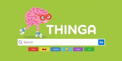 Thinga: novo motor de busca para os mais novos   Viagem das letras   Scoop.it