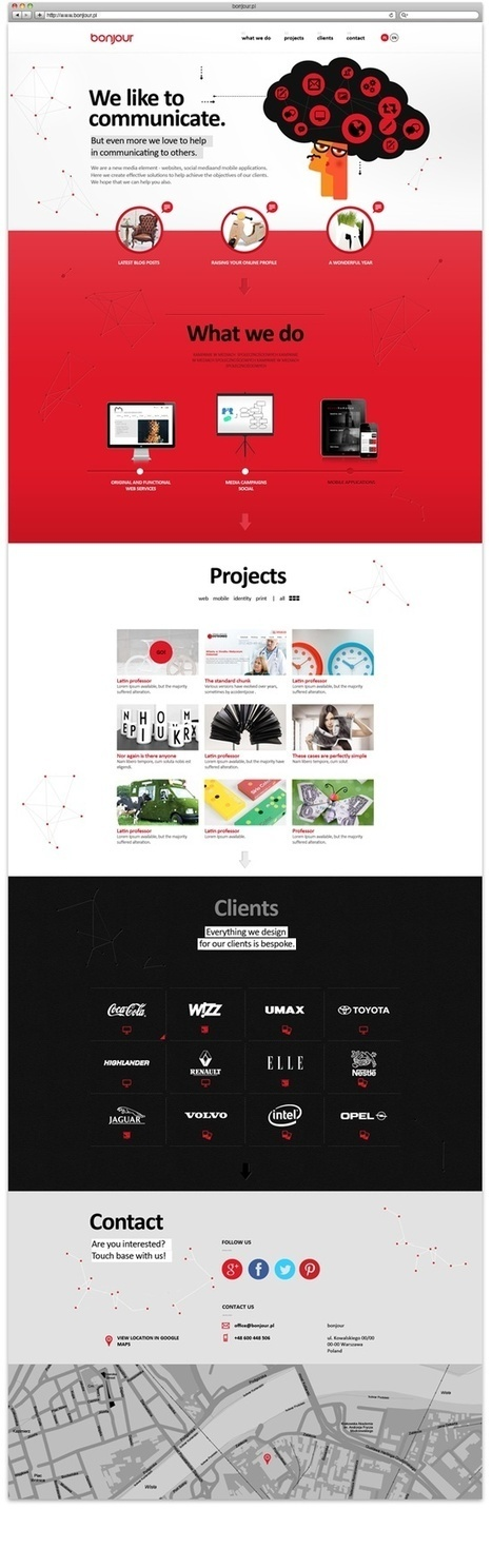 26 great web designs to get inspired by   From up North   WebDesignSunderland   Scoop.it