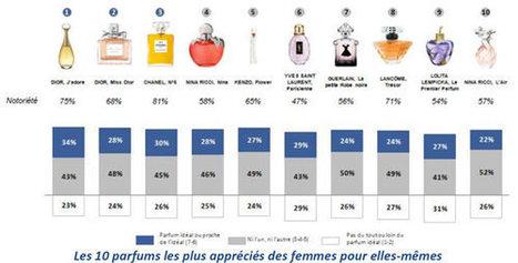 Parfum: les Françaises adorent Dior - 19/12/2012 | Parfum | Scoop.it