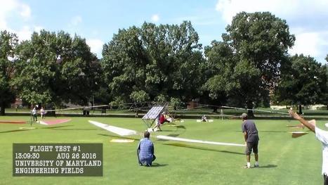 Un hélicoptère décolle à l'énergie solaire | Energies Renouvelables | Scoop.it