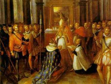 27 février 1594 - Henri IV est sacré à Chartres | Racines de l'Art | Scoop.it