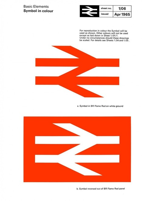 Reproduction of iconic British Rail Corporate Identity Manual | Design | Scoop.it