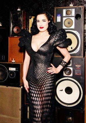 Dita Von Teese Flaunts Fibonacci-Inspired, 3-D Printed Gown | Wired Design | Wired.com | Pin-Up Logos | Scoop.it