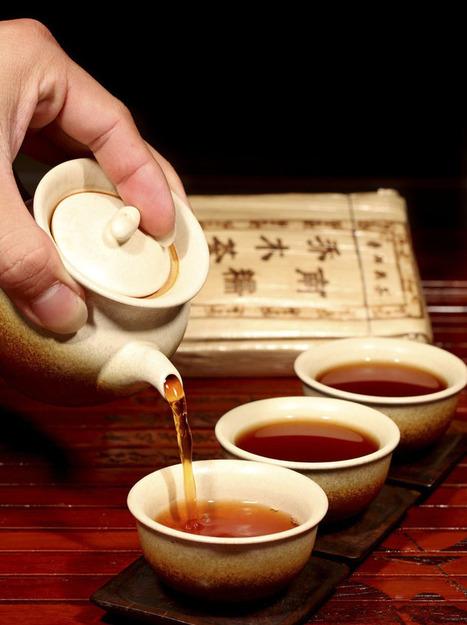 TeaNaga Road 2013 New South waxy arbor arbor brick series cooked Puer tea brick tea 250g 8.77oz | Chinese green tea | Scoop.it