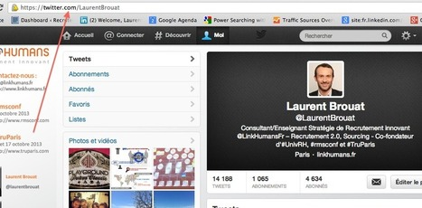 Recrutement et sourcing sur Twitter | Time to Learn | Scoop.it