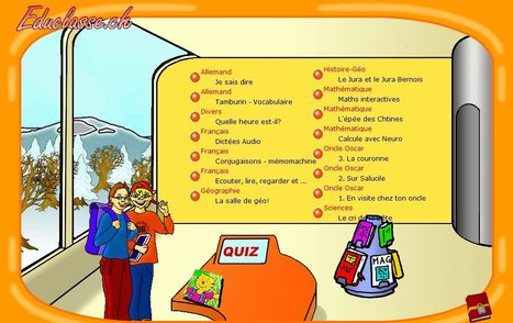 EDUCLASSE.CH | Ressources pour les TICE en primaire | Scoop.it