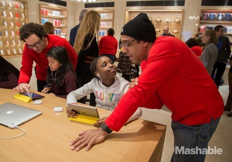 Tim Cook crashes coding party, calls for fundamental changes in education   PLE Foster   Scoop.it