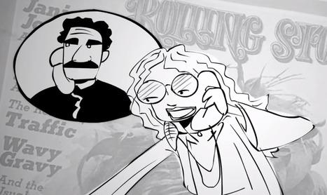 Watch Janis Joplin's Final Interview Reborn as an Animated Cartoon | Archivance - Miscellanées | Scoop.it