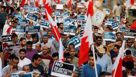 Thousands take to streets in Bahrain to protest for democracy (PHOTOS) | Human Rights and the Will to be free | Scoop.it