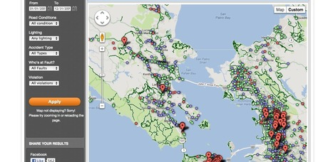 We expanded our popular bike accident tracker: five years of data covering the entire Bay Area.   JRN100InterestingStuff   Scoop.it