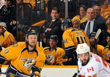Peter Laviolette Hitting All The Right Notes In Music City | Hockey | Scoop.it
