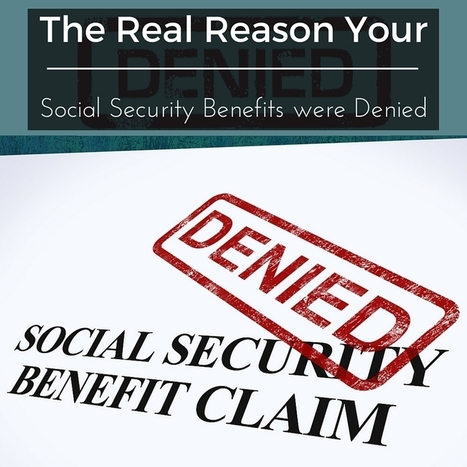 The Real Reason Your Social Security Benefits were Denied - Lundy Law | Home Improvement, Modular Construction, Modular Buildings, Prefabricated Building | Scoop.it