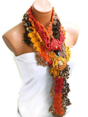 Discount sale-Neckwarmer, Crochet Women Scarf... fashion,autumn,Holiday Accessories, Personalized Design. Neckwarmer, scarflette... by WomanStyleShop | women fashion | Scoop.it
