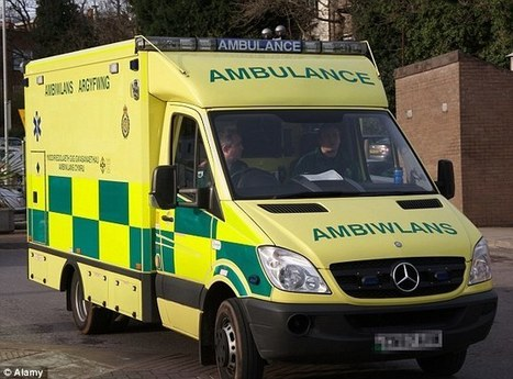 How Welsh A&Es are delaying 999 crews - Daily Mail | The Ambulance | Scoop.it