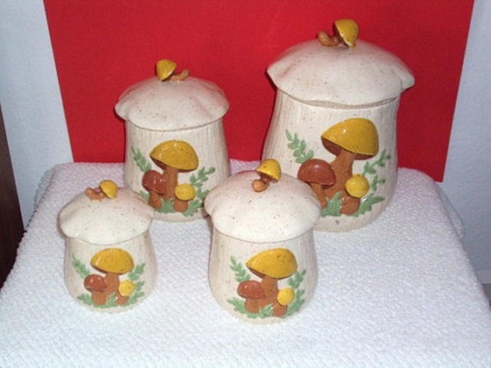 Vintage Merry Mushroom Collection  1970's era  by daddydan on Etsy | Kitsch | Scoop.it