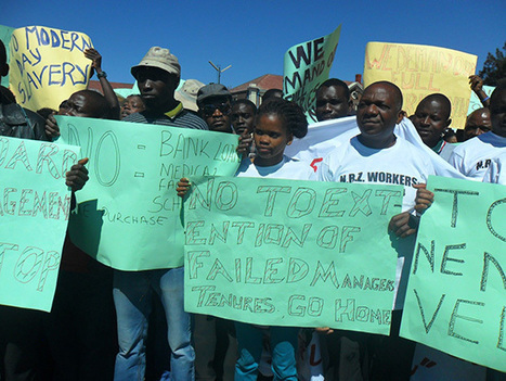 NRZ workers stage Byo, Hre pay protests - New Zimbabwe.com | NGOs in Human Rights, Peace and Development | Scoop.it