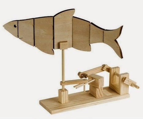 The Automata Blog: Want to get started with automaton-making this year? Timberkits are the way to go! | Heron | Scoop.it