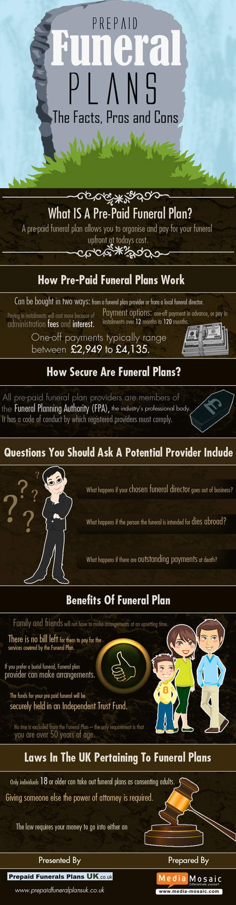 Prepaid Funeral Plans – The Facts ,Pros and Cons | Pensioner Security | Scoop.it