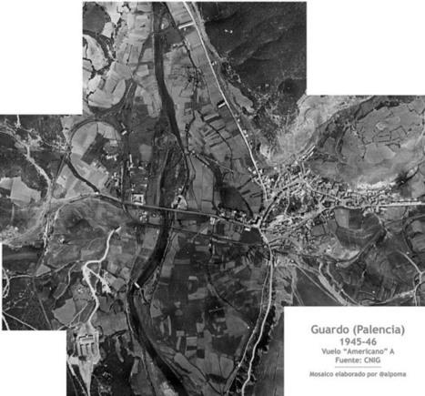 Disponibles online las imágenes del Vuelo Americano Serie A (1945/46) - La Cartoteca | Cartografía | Scoop.it
