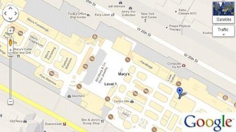 Visualiser le plan des boutiques via Google Maps | Digital trends & figures | Scoop.it